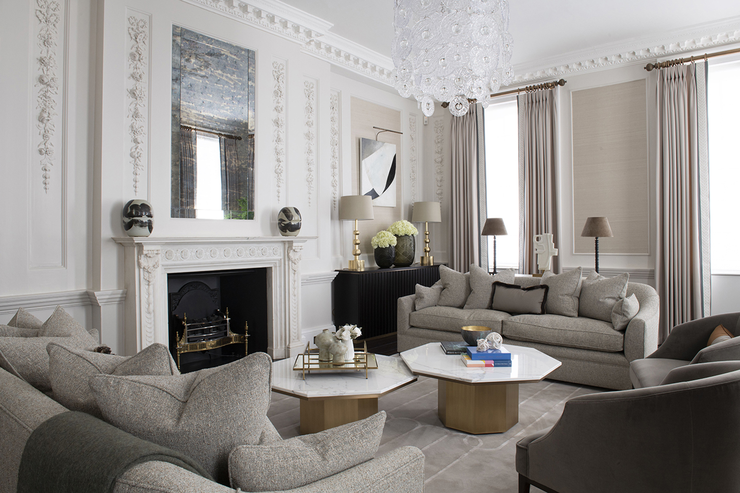 BESPOKE LIVING ROOM RUG_Interior Design by Schiller Beynon_Photography by Jody Stewart