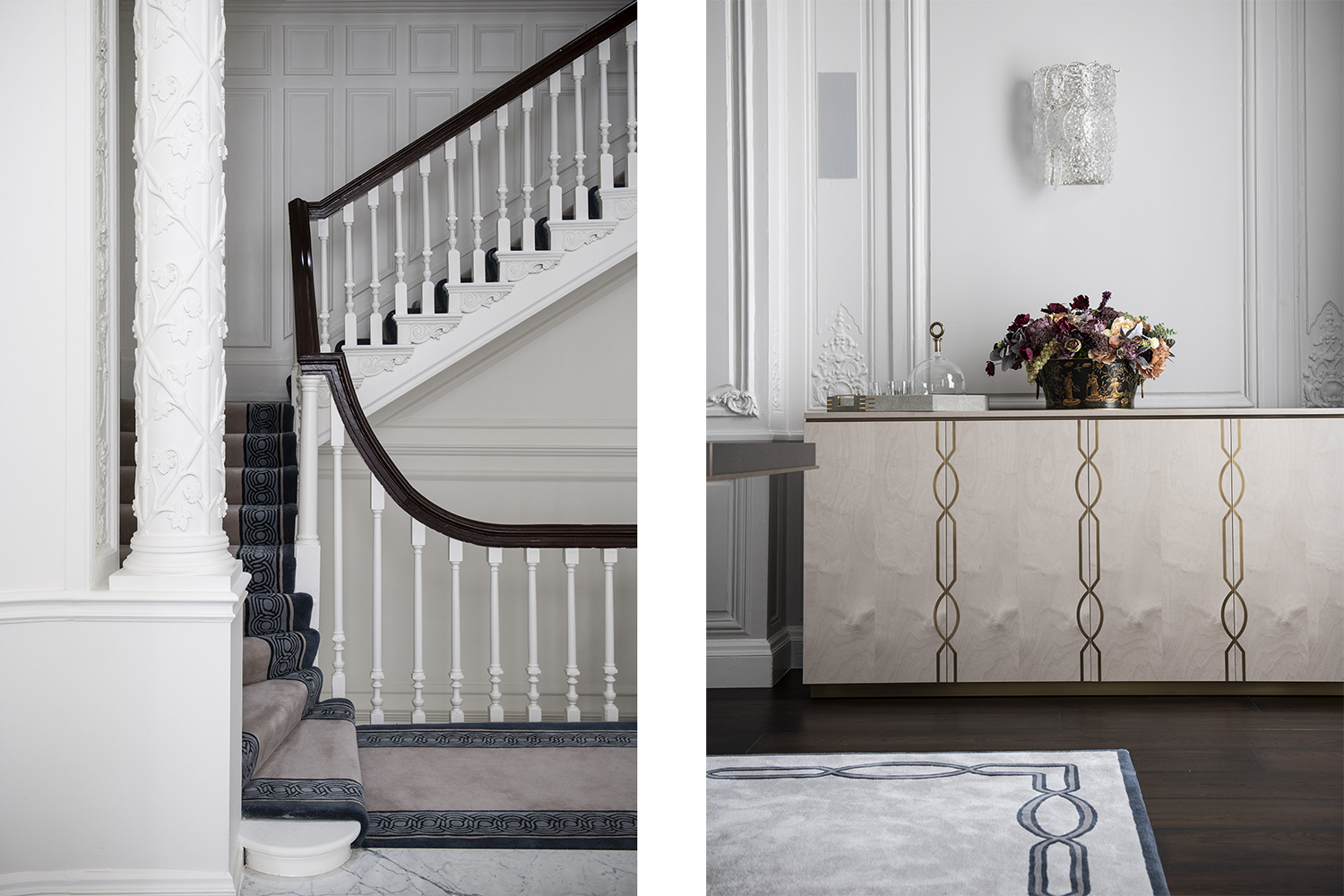 PROJECT FOCUS: GRADE II LISTED TOWNHOUSE, MAYFAIR INTERIOR DESIGN BY SCHILLER BEYNON