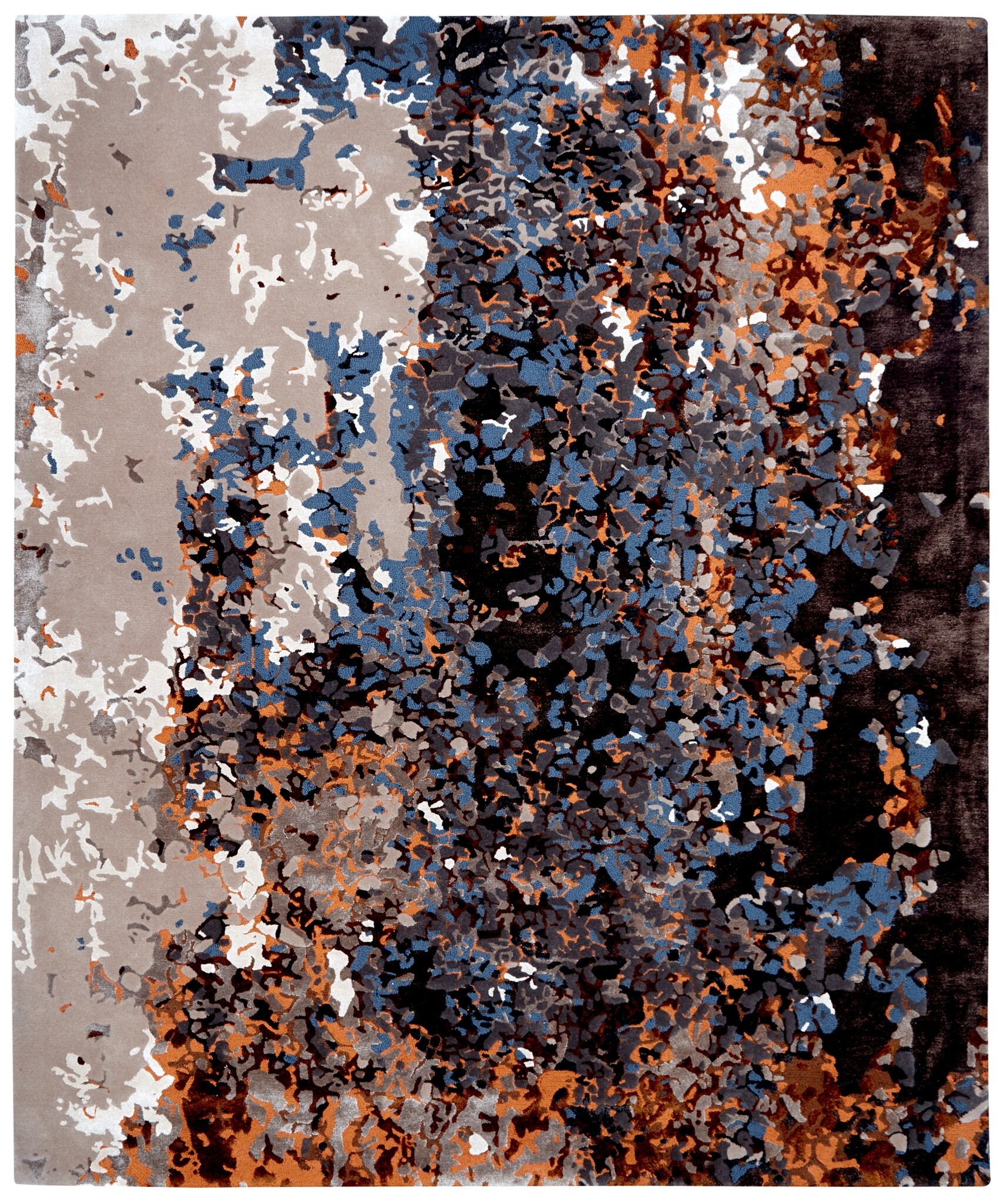 RUSTY_Ravaged Beauty Collection_By Loomah Bespoke Carpets & Rugs