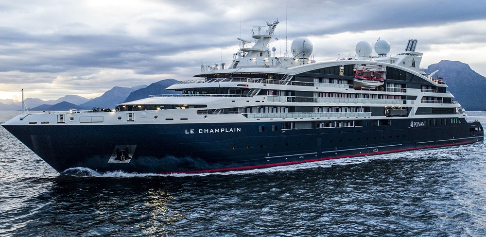 PROJECT FOCUS: LUXURY EXPEDITION CRUISE SHIPS LE CHAMPLAIN