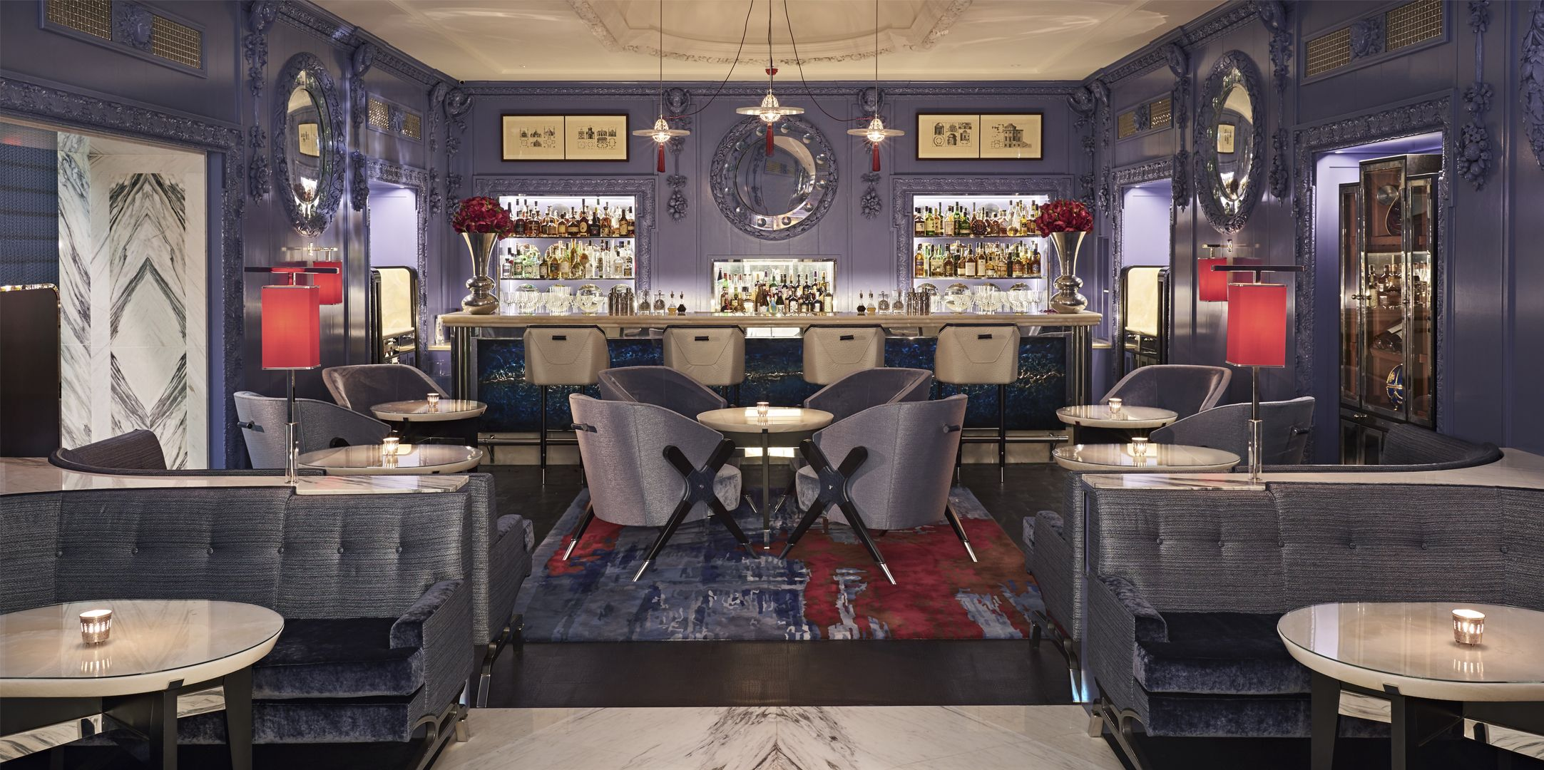 BLUE BAR By Loomah Bespoke Carpets & Rugs