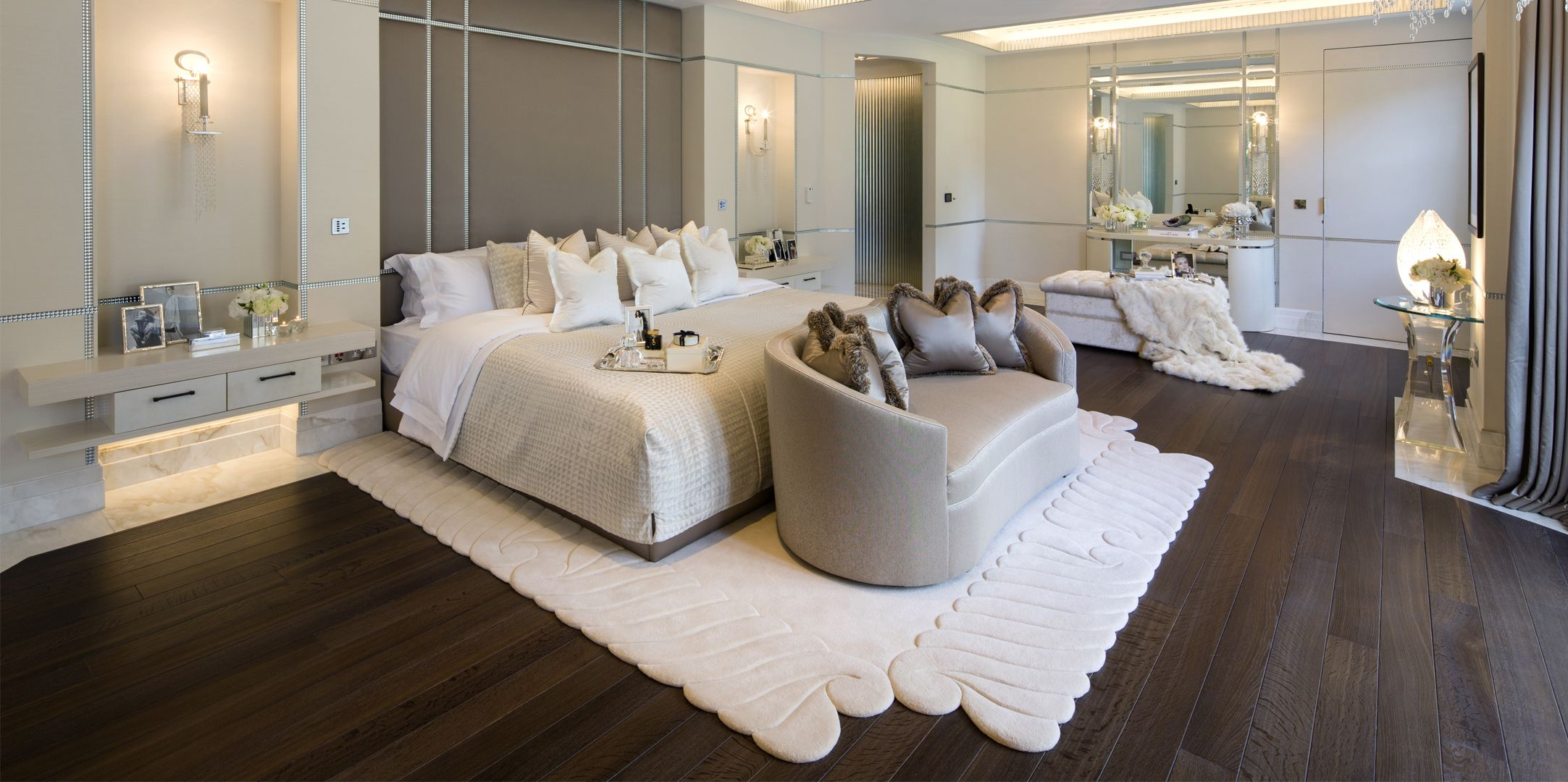 MASTER BEDROOM By Loomah Bespoke Carpets & Rugs